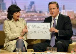 cameron and bringbackourgirls
