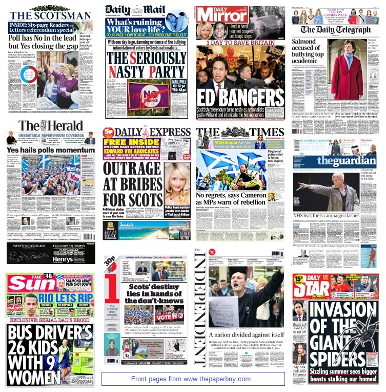 front pages 17-09-14