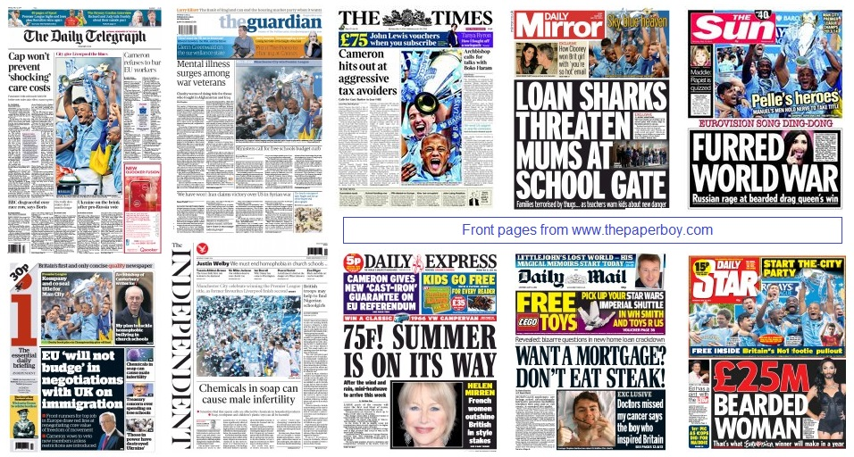 front pages 12-05-14