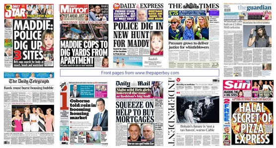front pages 07-05-14