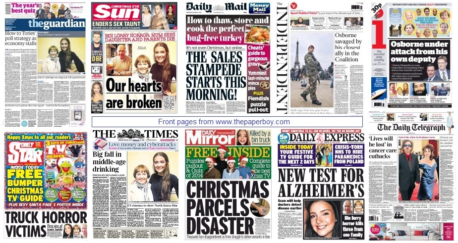 front pages 24-12-14