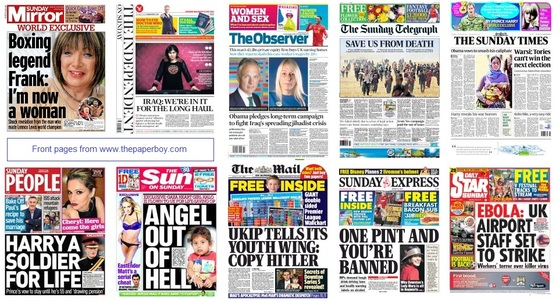 front pages 10-08-14