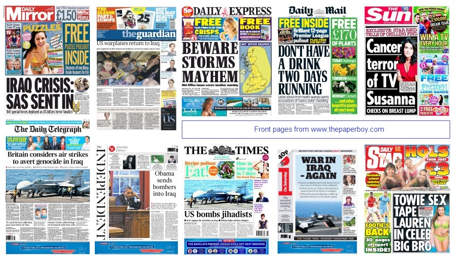 front pages 09-08-14