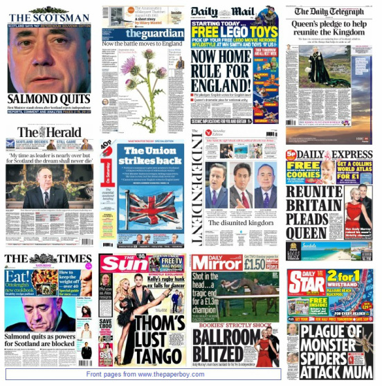 front pages 20-09-14