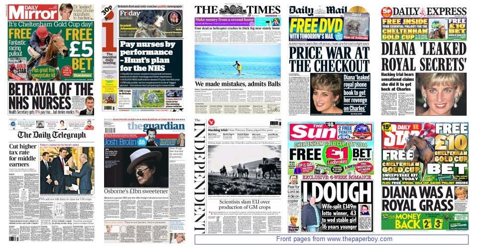front pages 14-03-2014
