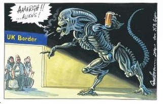 Dave Brown cartoon