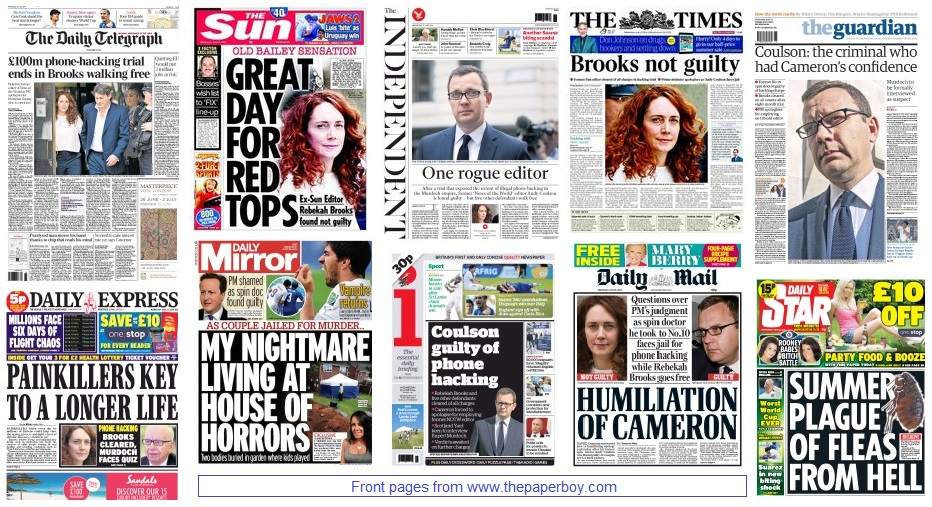front pages 25-06-2014