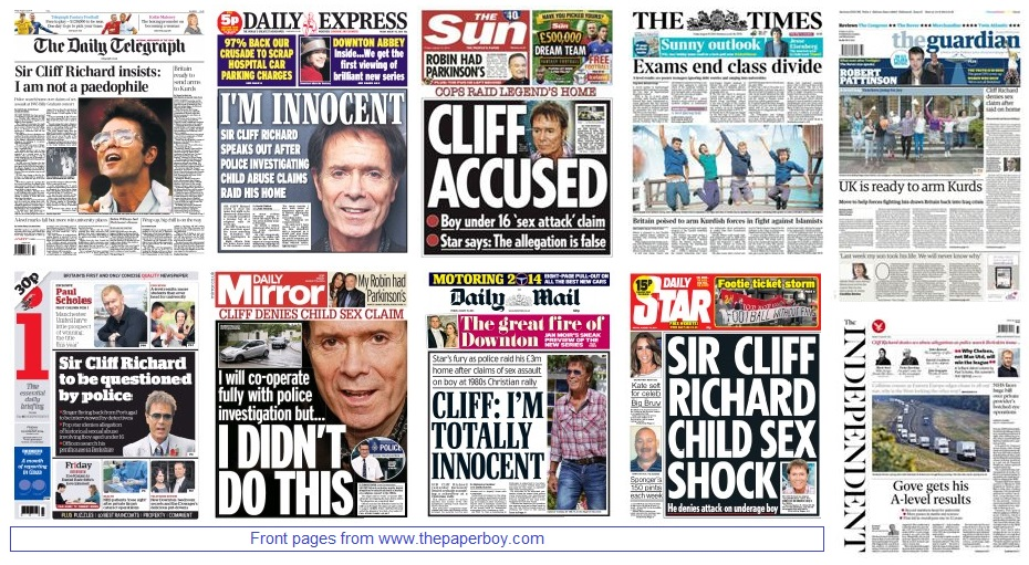 front pages 15-08-14