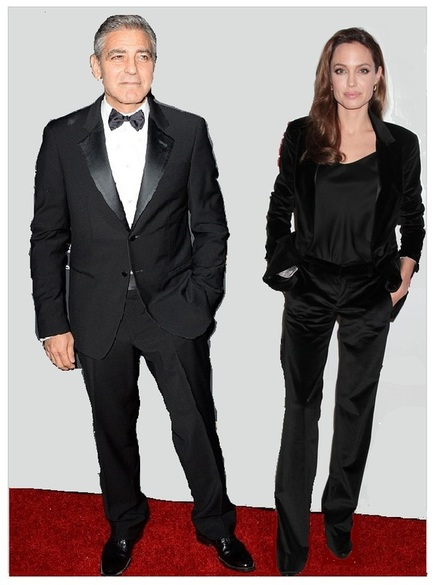 Clooney and Jolie