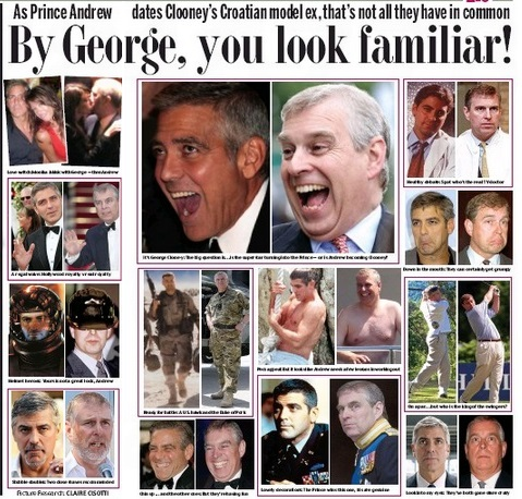 Mail Clooney-Andrew spread