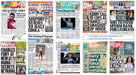 front pages 03-08-14