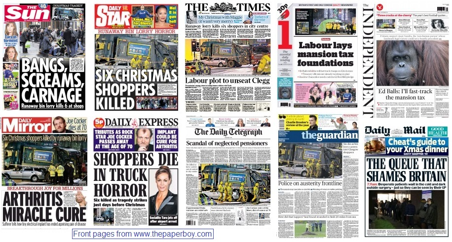 front pages 23-12-14