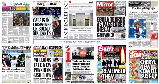 front pages 04-08-2014