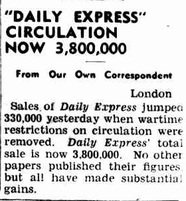 Daily Express, Sept 25, 1946