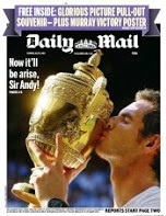 Mail Murray wins Wimbledon