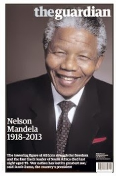 Guardian mandela's death