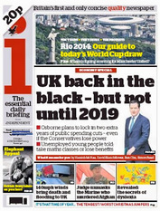 I UK in black