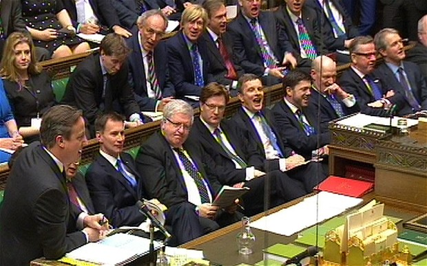 Too many men on the Tory front bench?
