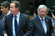 Cameron and Juncker
