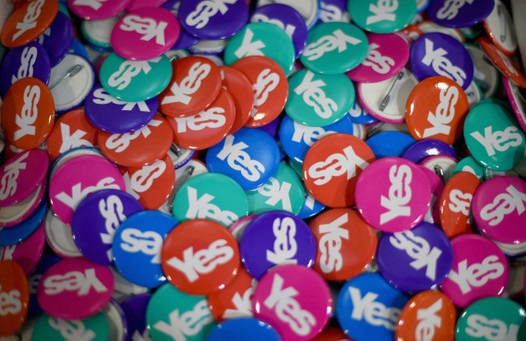 'Yes' badges